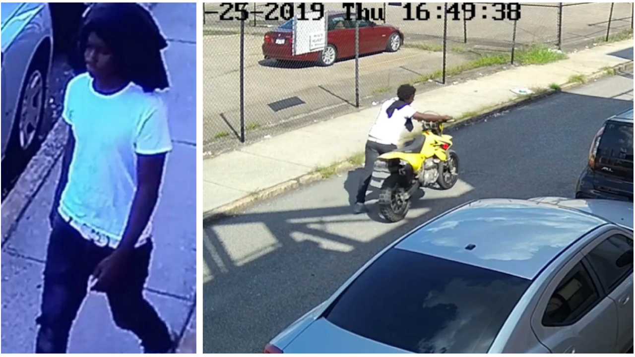 Video shows man accused of stealing motorcycle in Manchester