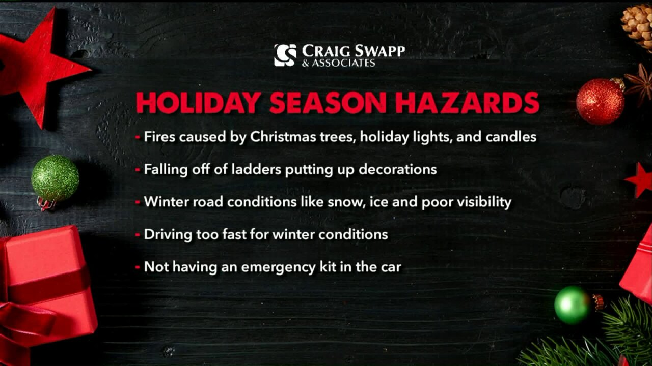 How to avoid common holidayhazards