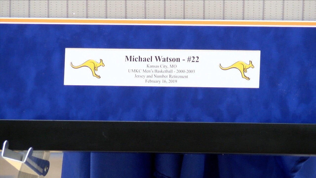 Michael Watson Jersey Retirement 4