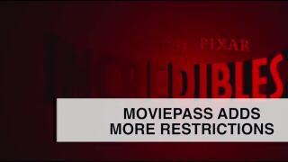 MoviePass adds more restrictions