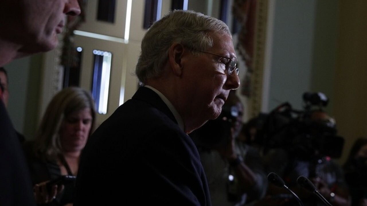McConnell asks all Republicans to join all-male health group
