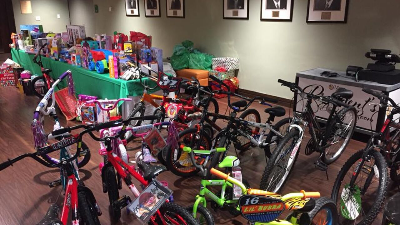Office of the Mayor's annual toy drive