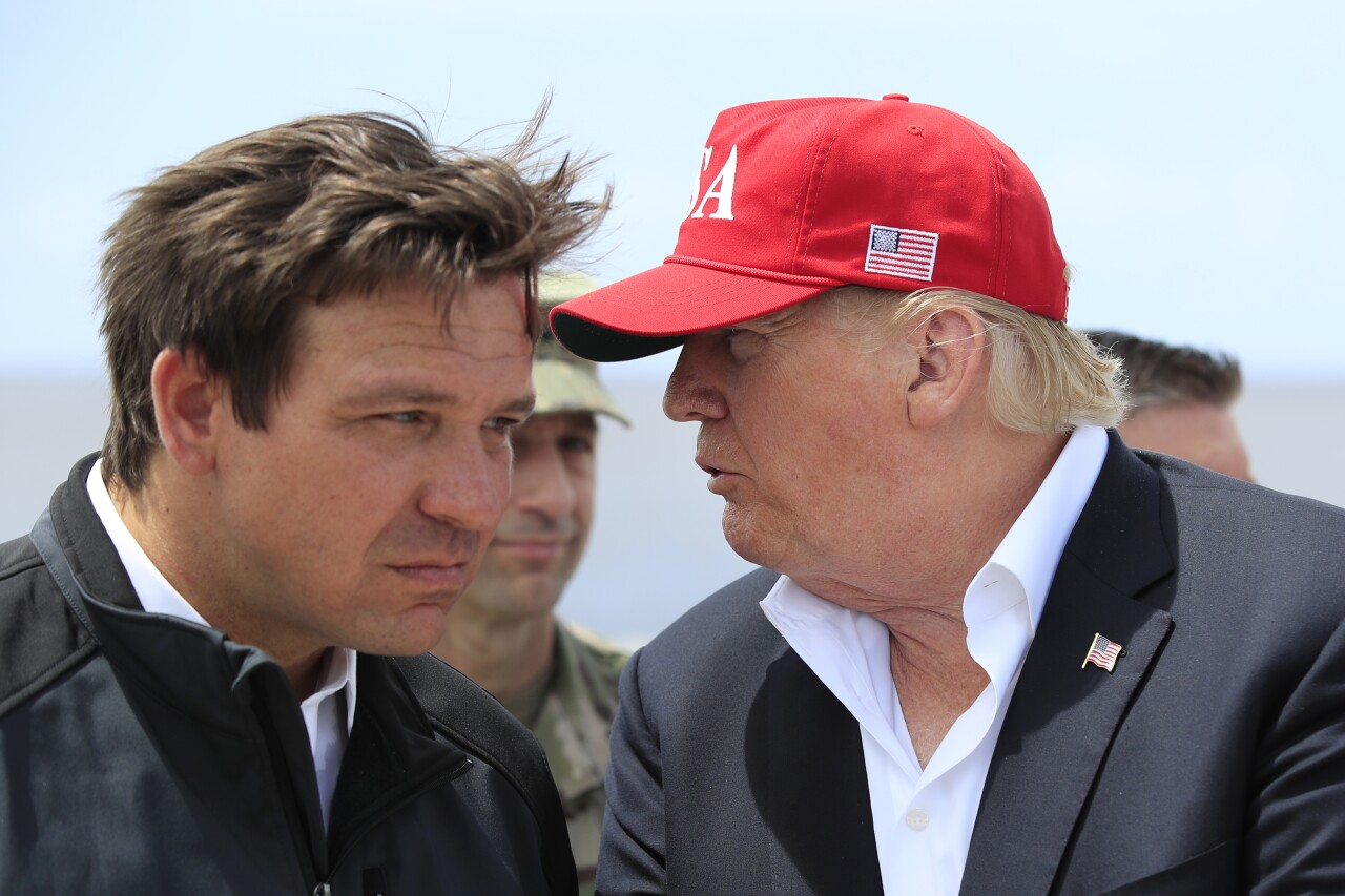 Gov. Ron DeSantis and President Donald Trump, March 2019