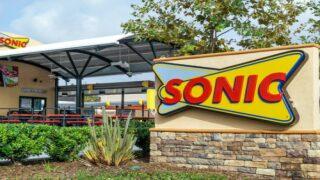 Sonic's Newest Slush Float Combines Lemonade, Ice Cream And Fresh Strawberries