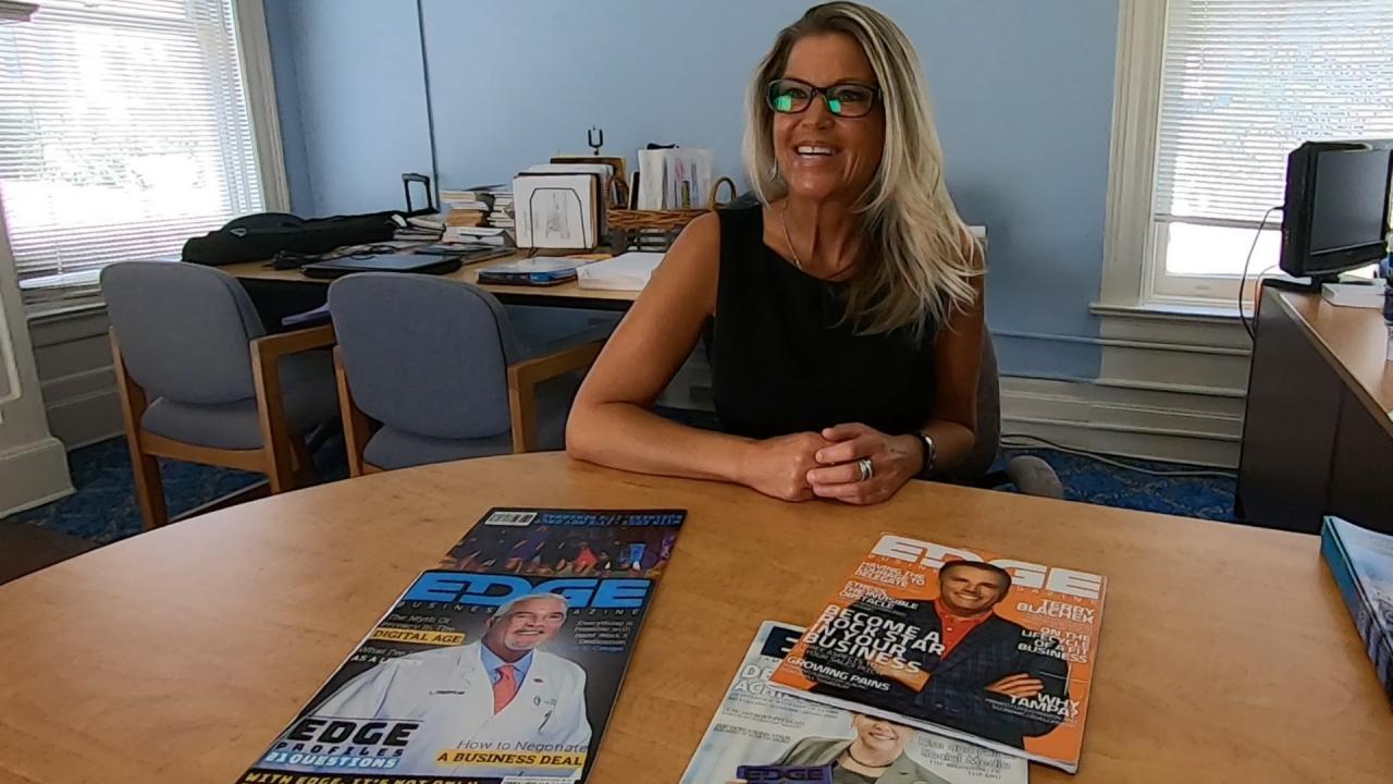 Kelly Wilson, Founder EDGE Business Magazine