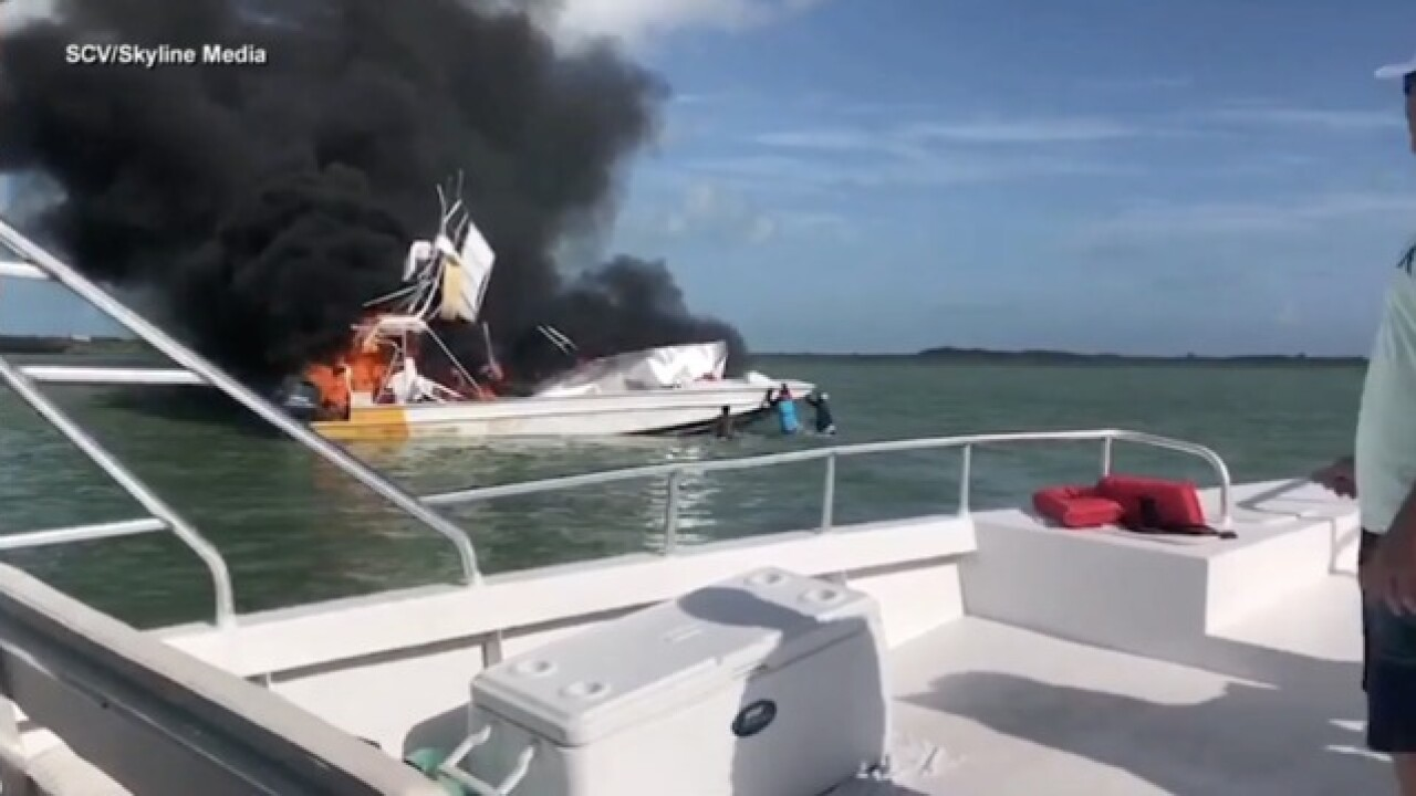American tourist dead in tour boat explosion