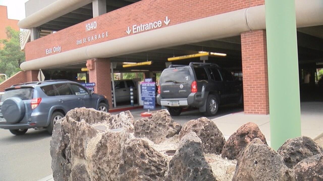 New parking help near UA