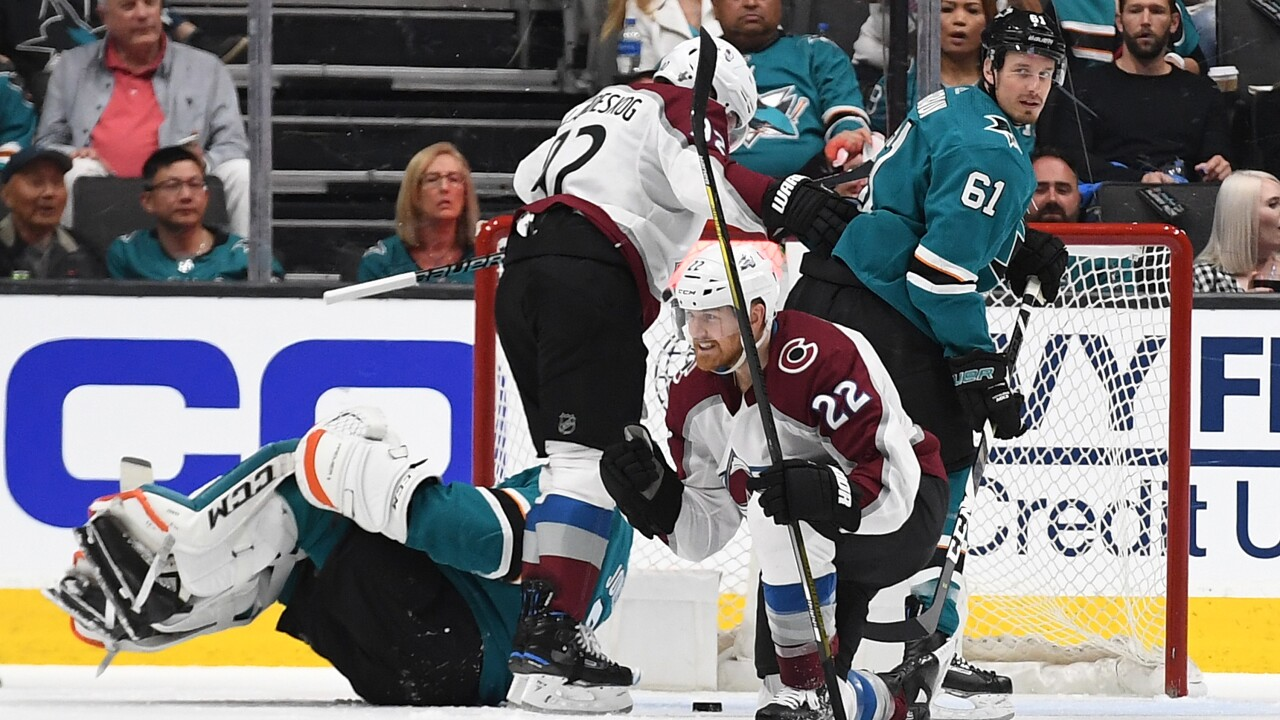 Colorado Avalanche v San Jose Sharks - Game One.jpg