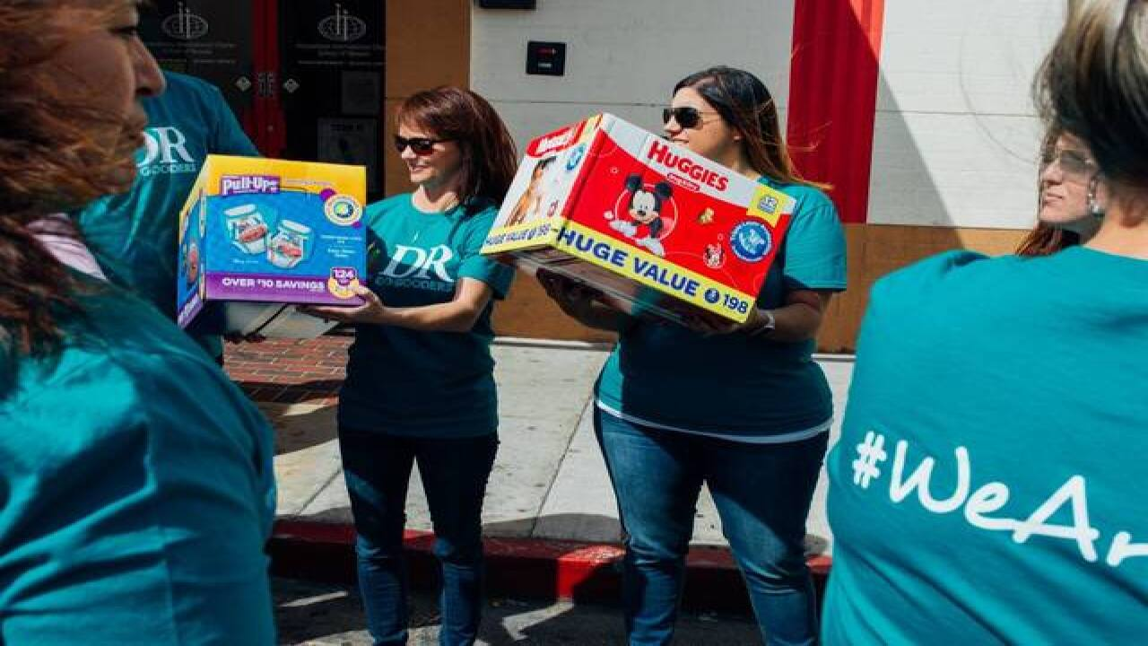Desert Radiology employees donate 31,000 diapers