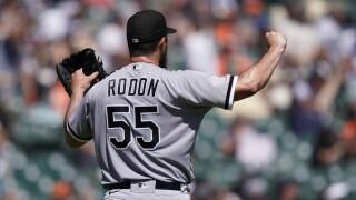 Carlos Rodon White Sox Tigers Baseball