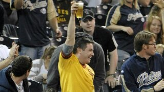 San Diego Padres begin beer hawking service for fans at Petco Park