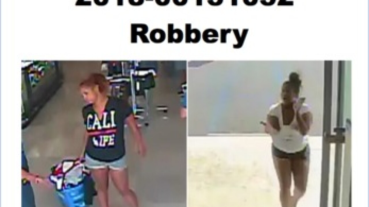 Ross robbery suspects wanted by KCSO