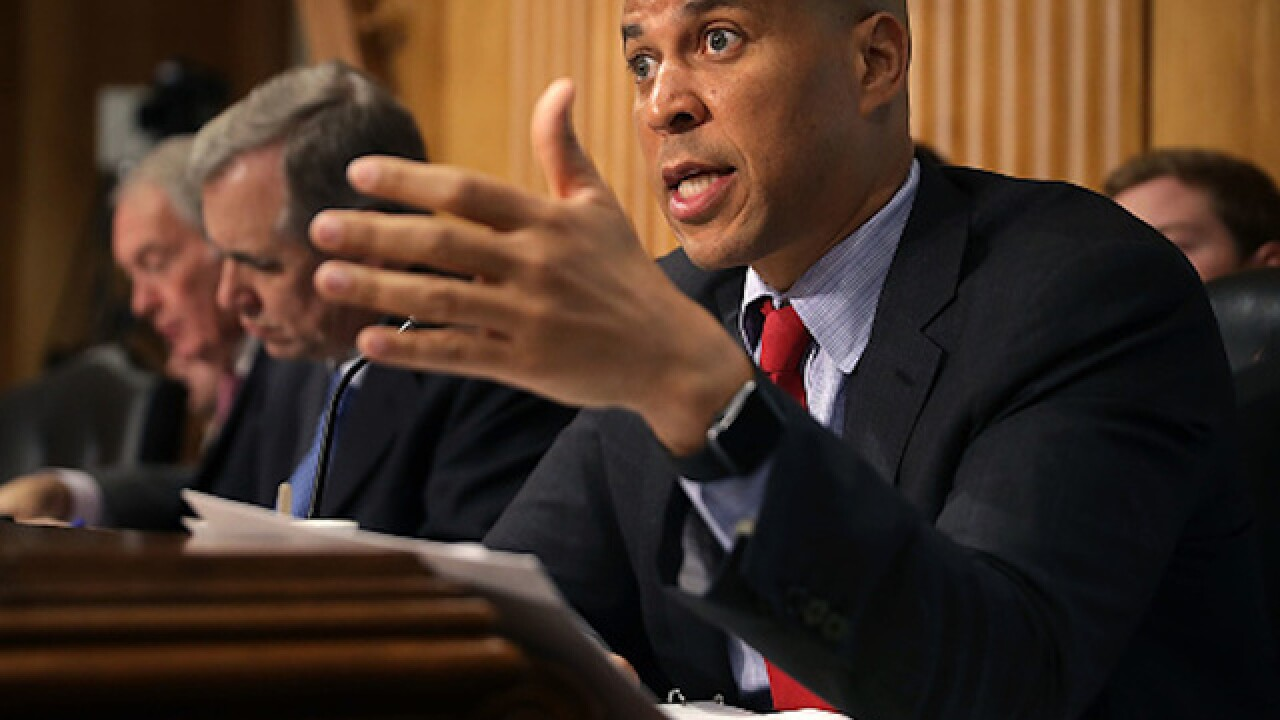 Sen. Cory Booker releases confidential 'racial profiling' email sent by Kavanaugh