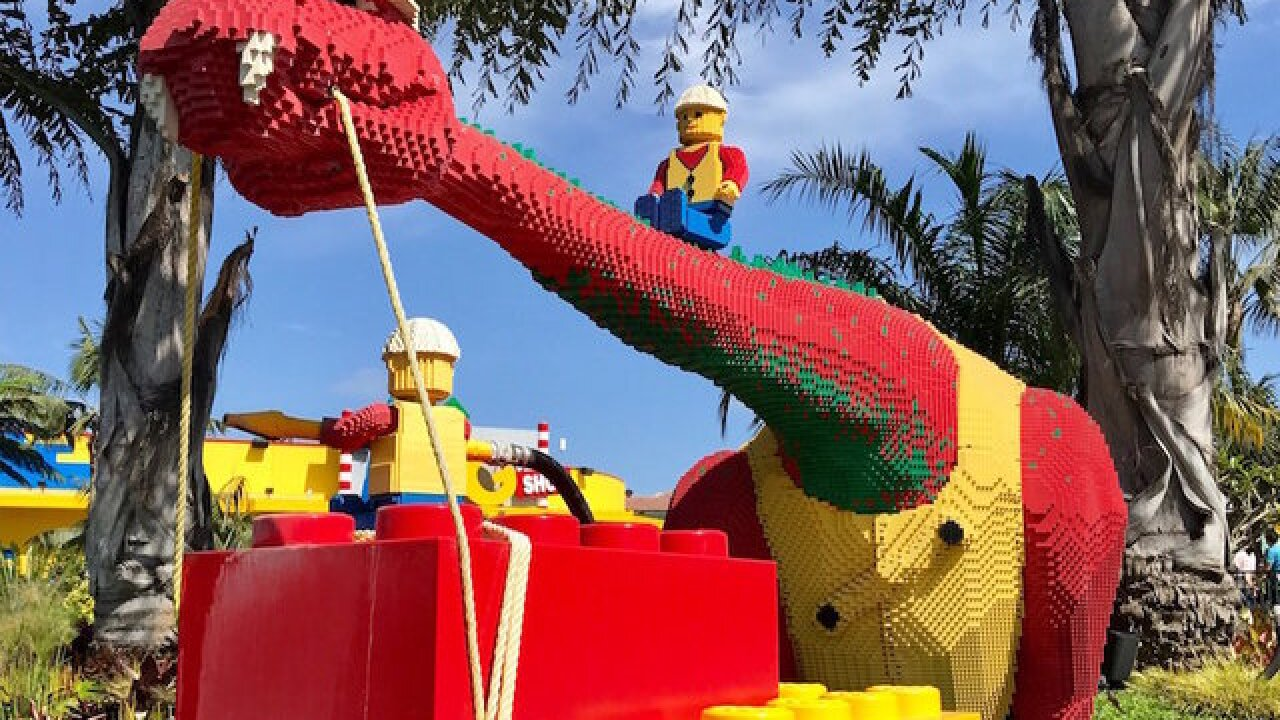 Legoland California ranked among TripAdvisor's top U.S. theme parks