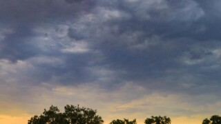 Monsoon skies over Paso Robles