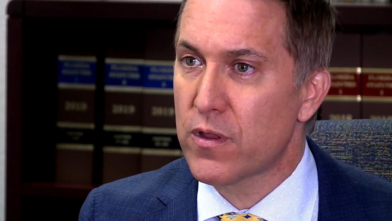 Palm Beach County State Attorney Dave Aronberg speaks to WPTV on Oct. 12, 2021.jpg