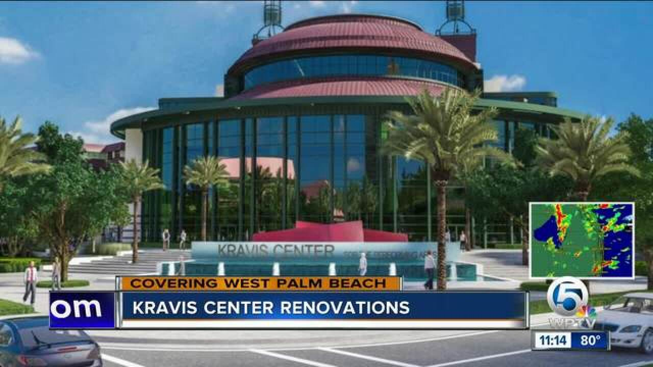 Kravis Center undergoing $50 million renovation, expansion