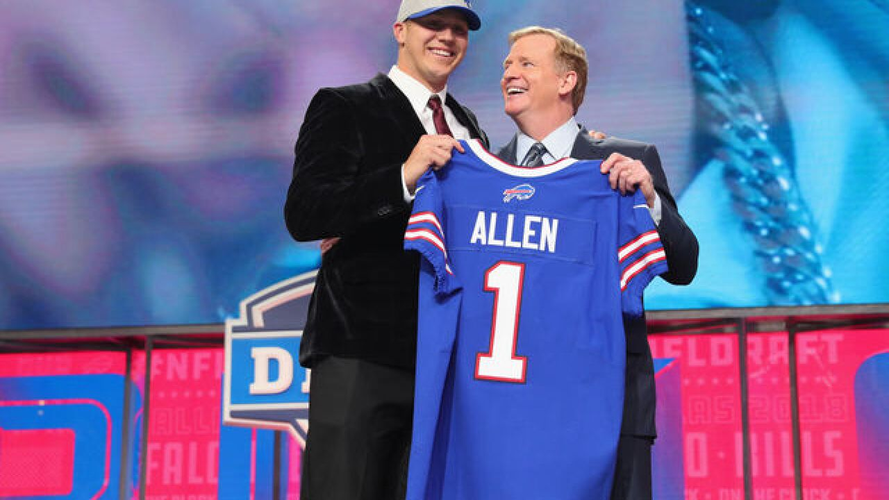 Buffalo Bills don't rule out Josh Allen starting in 2018