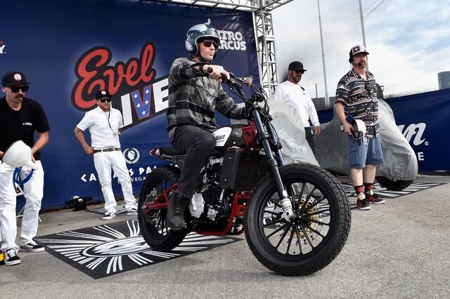PHOTOS: Travis Pastrana recreates Evel Knievel's jumps in Las Vegas