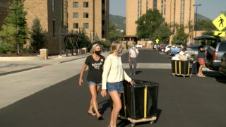 Move-in day starts for CU students amid coronavirus pandemic