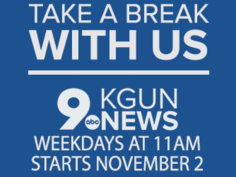 Get your mid-morning news fix at 11AM on KGUN 9 starting November 2nd!