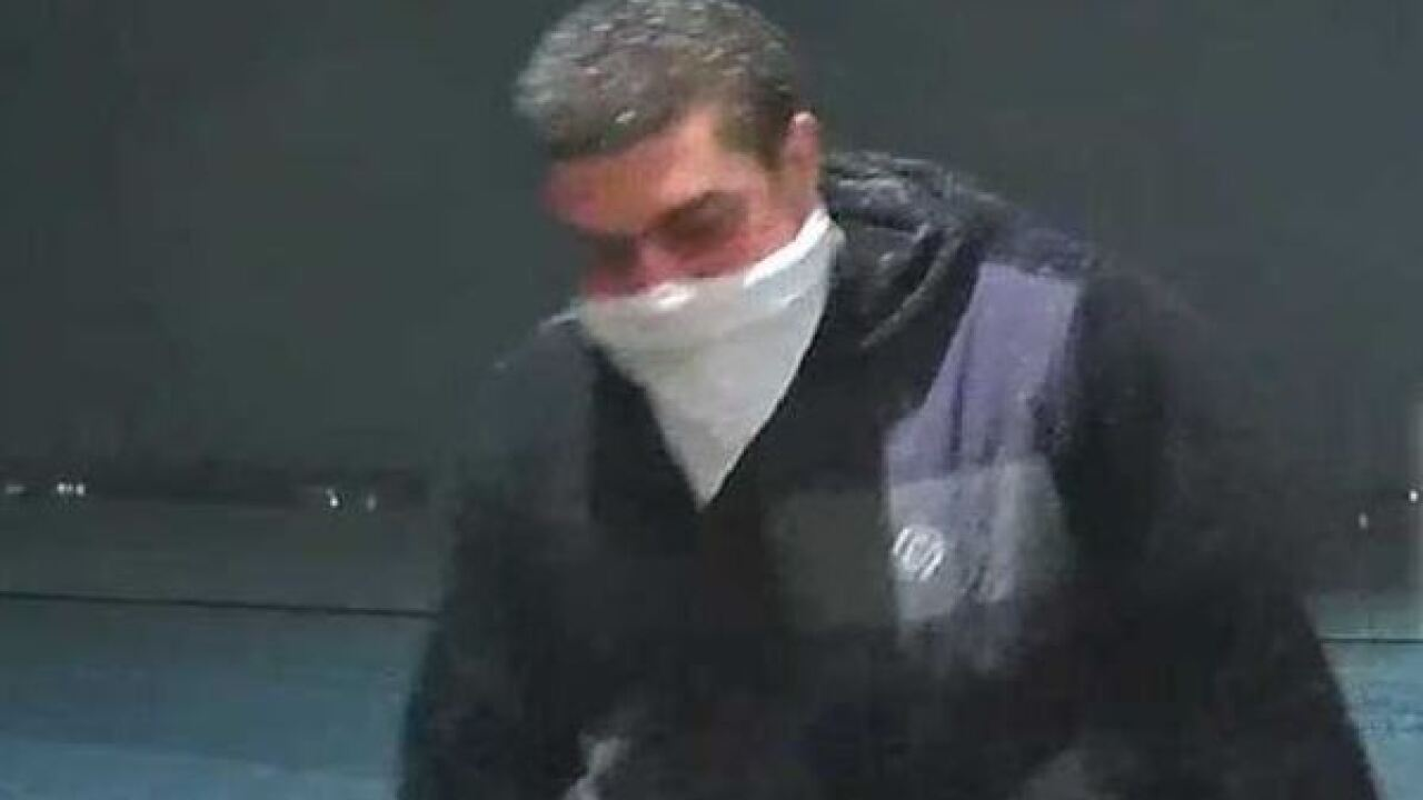Do you recognize this package thief?