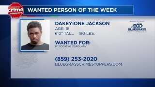Crime Stoppers Most Wanted Person Of The Week: June 27, 2018