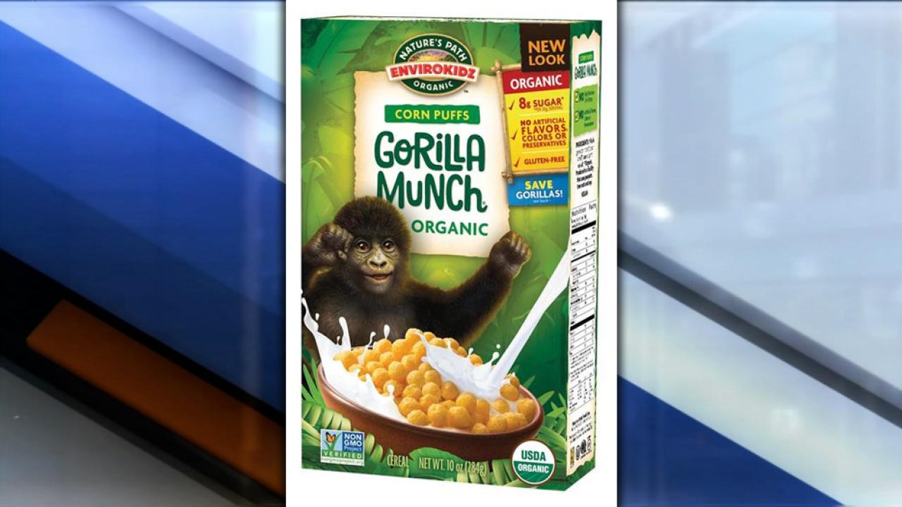 Nature's Path Foods recalls kids' gluten-free cereal due to undeclared gluten