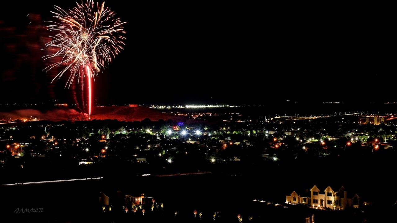 Fort Carson fireworks