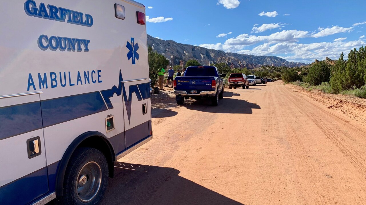 Stranded, hypothermic hikers rescued from Capitol Reef slot canyon