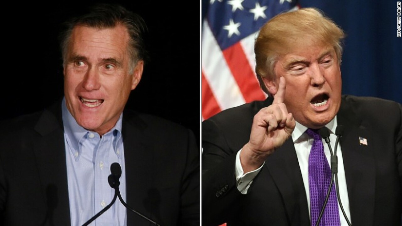 Romney breaks with Trump claim that Ukraine meddled in the 2016 election