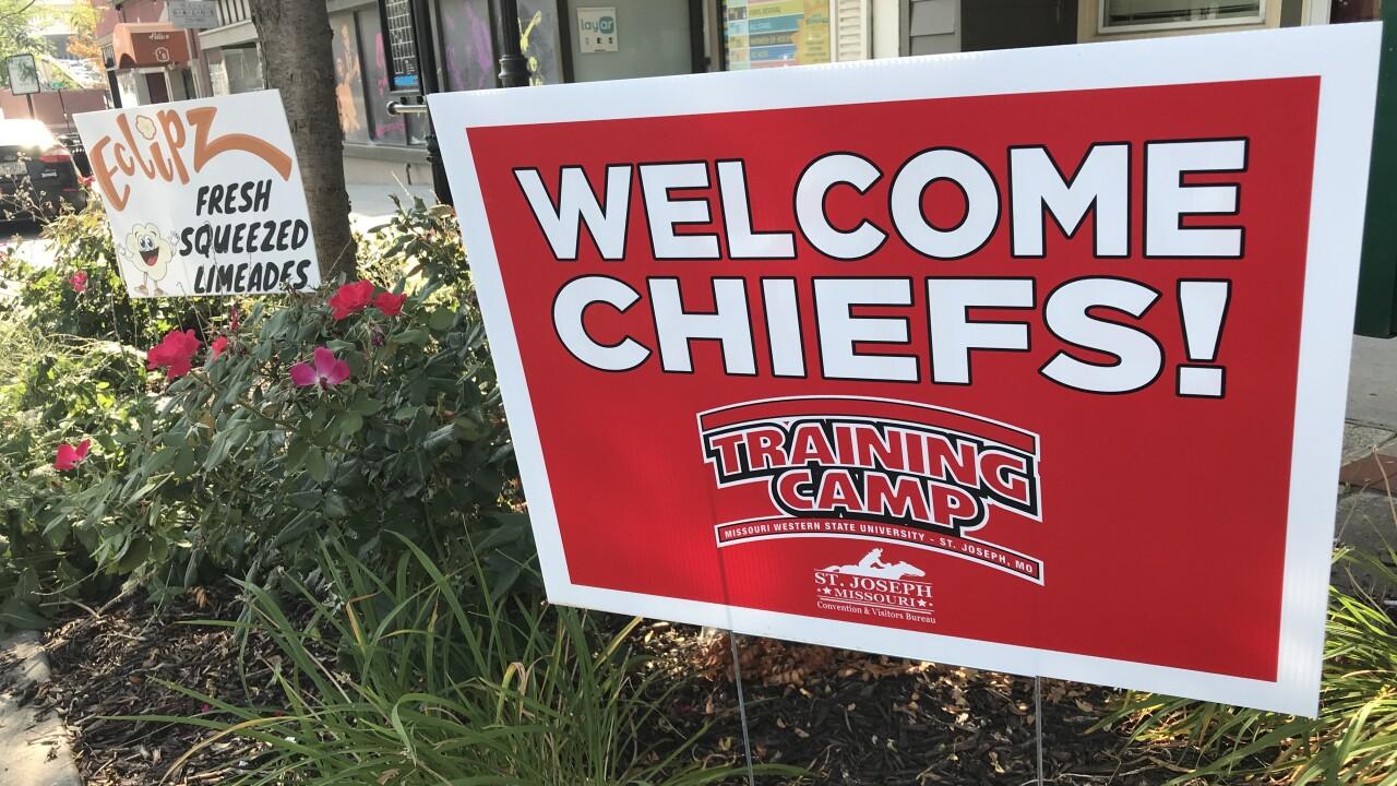 St Joe Chiefs training Camp.JPG