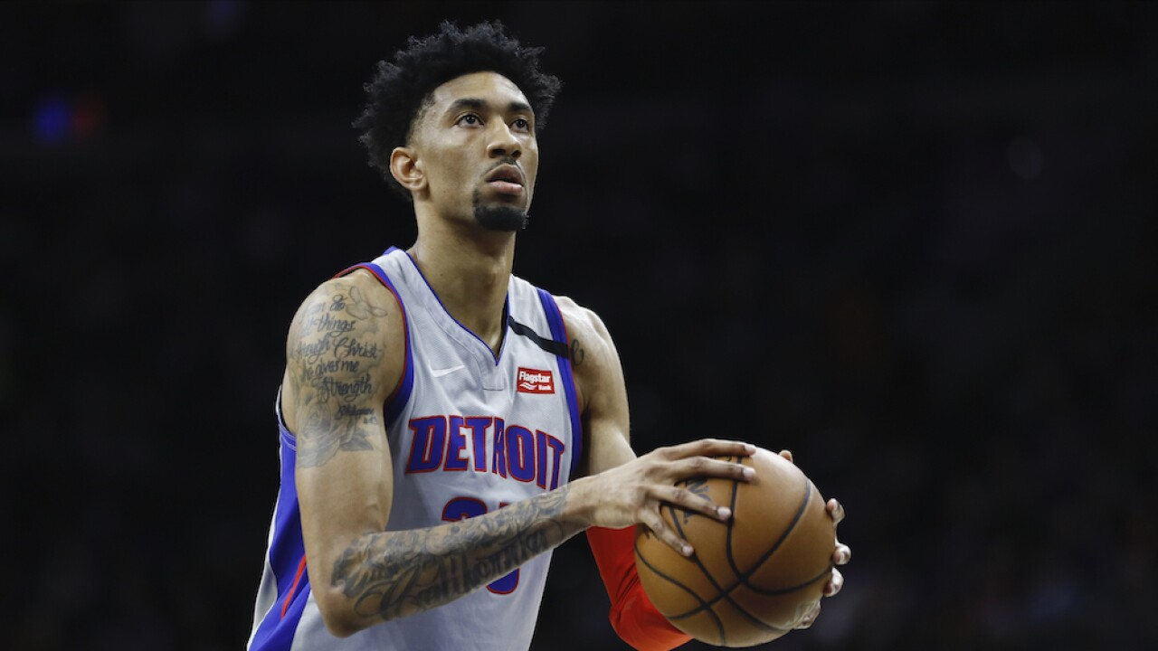 Detroit Pistons player Christian Wood tests positive for COVID-19