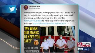 Fire department masks