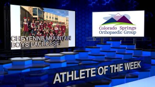 KOAA Athlete of the Week: Cheyenne Mountain Boys Lacrosse (senior edition)