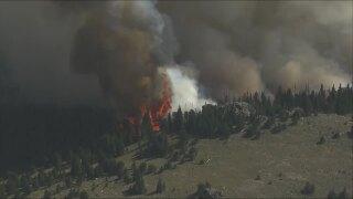 Shawnee Peak Fire 3