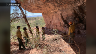 Archaeologists play a central role during wildfire season