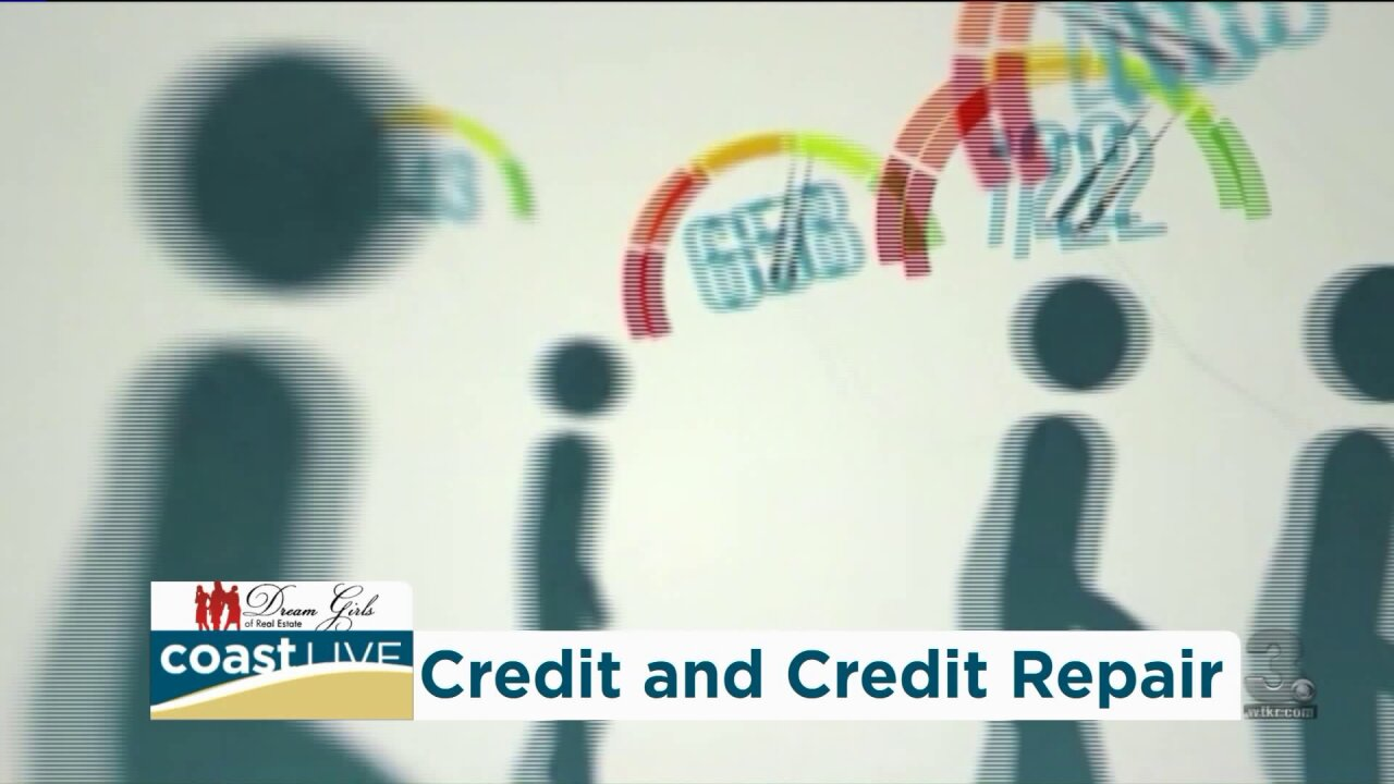 How to repair your credit score with help from Dream Girls of Real Estate on Coast Live