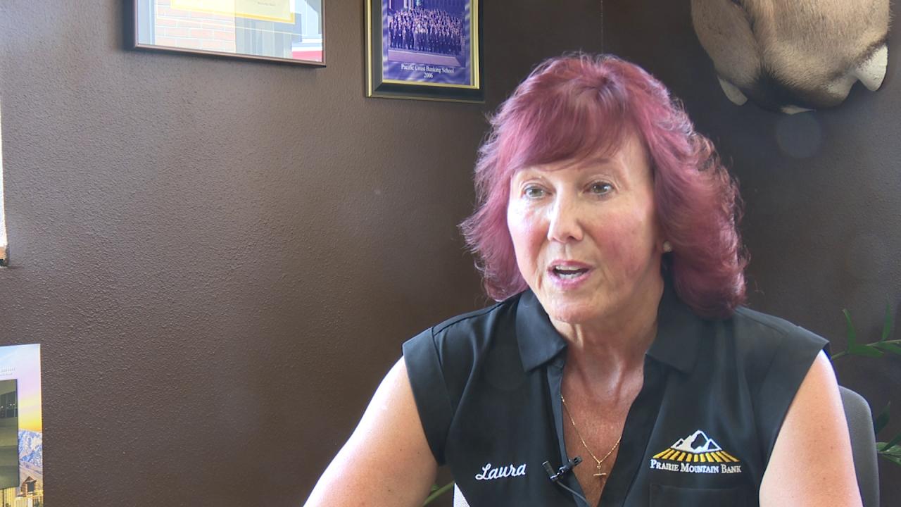 Laura Vukasin of Prairie Mountain Bank