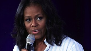 Michelle Obama knocks Trump's message to youth