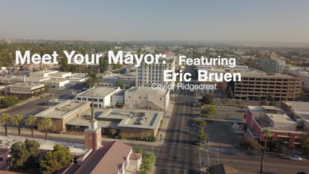 Meet Your Mayor Ridgecrest