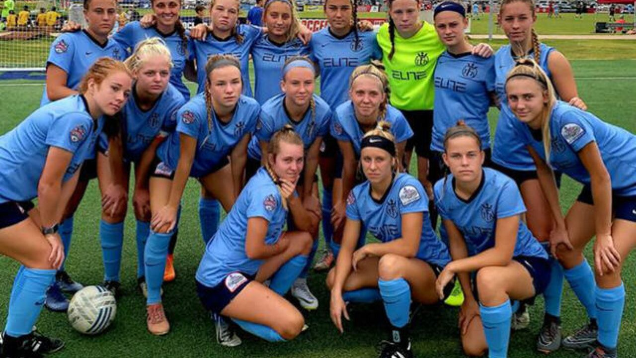 Total Futbol Academy girls' soccer team places third at nationals