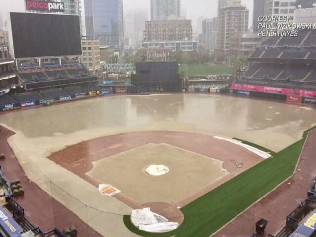GALLERY: Heavy rainfall causes flooding around San Diego County