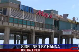 Mikel May's seeks help after Bob Hall pier closure