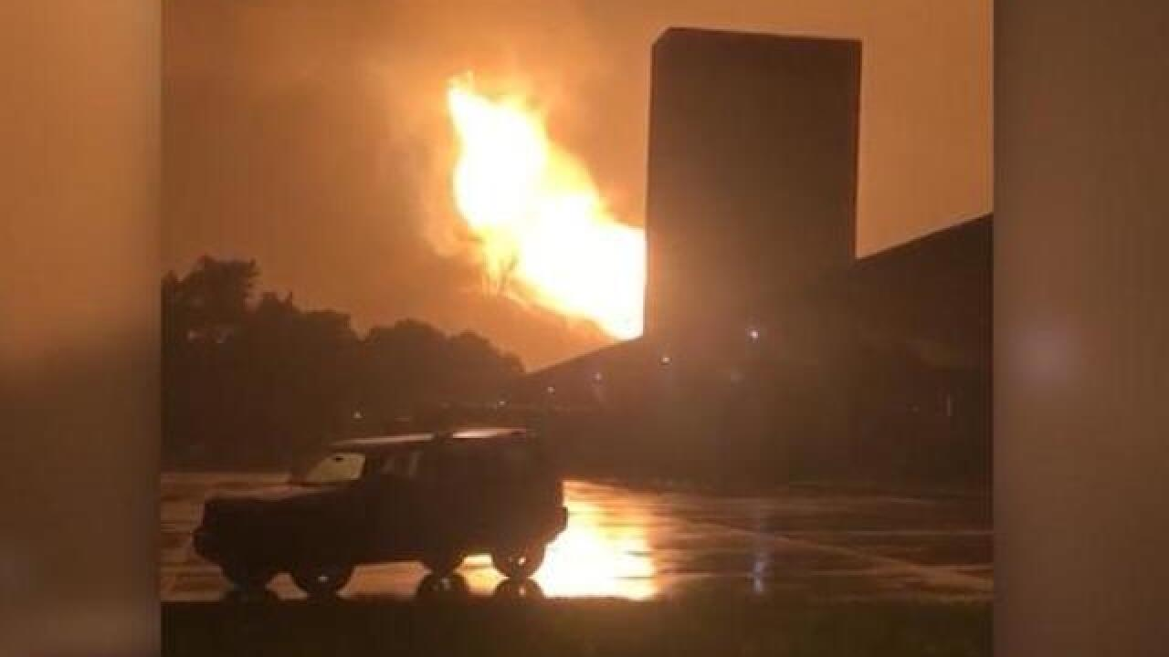 Natural gas line explosion leads to evacuations in western Pennsylvania town