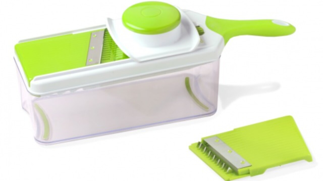 Mandoline slicers recalled