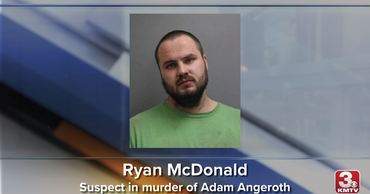 Suspect taken into custody for murder of Adam Angeroth