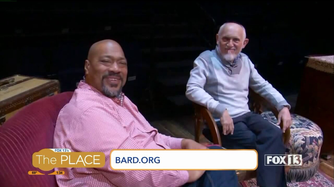 Actor famous from 'Star Trek' is on stage at the Utah Shakespeare Festival