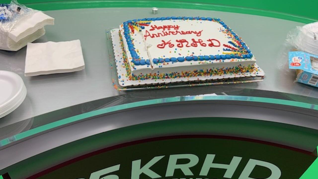 KRHD anniversary cake