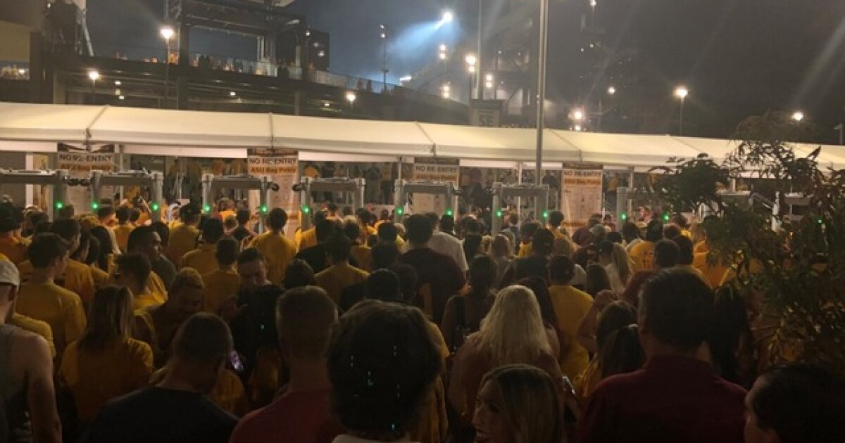 ASU football: Tips for avoiding long lines for Saturday's